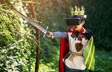 virtual reality kinderfeestje